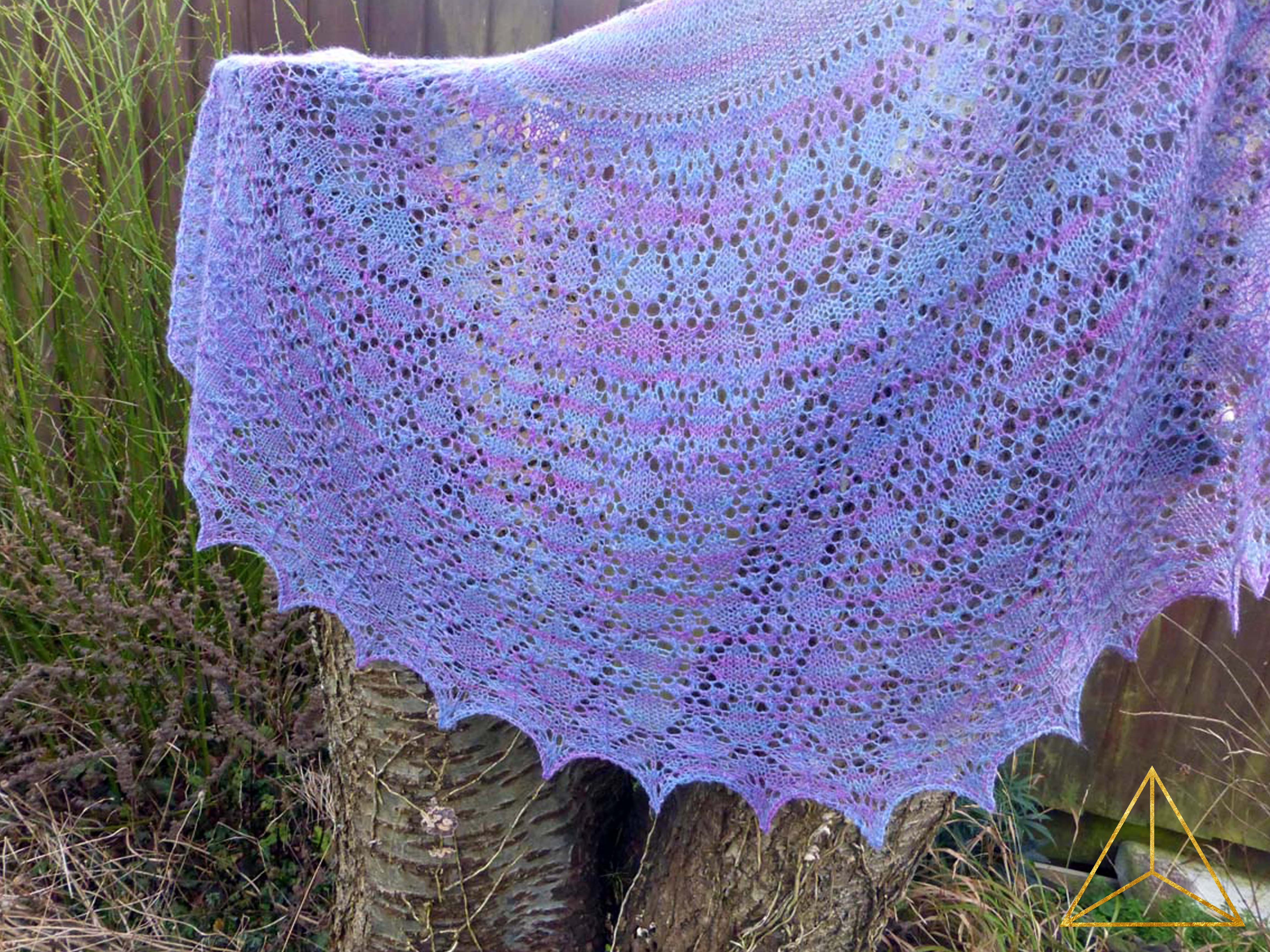 A Lost Edging to the Candyfloss Shawl | www.thefatedknitter.co.uk